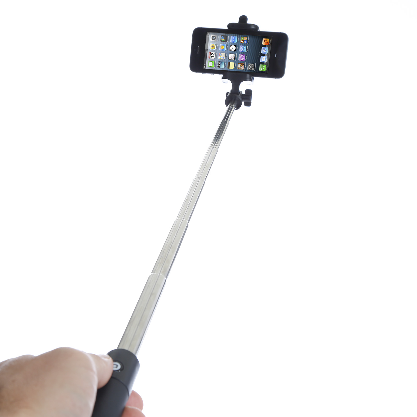 poppstar bluetooth teleskop selfie stick selfie stange bis 72cm. Black Bedroom Furniture Sets. Home Design Ideas